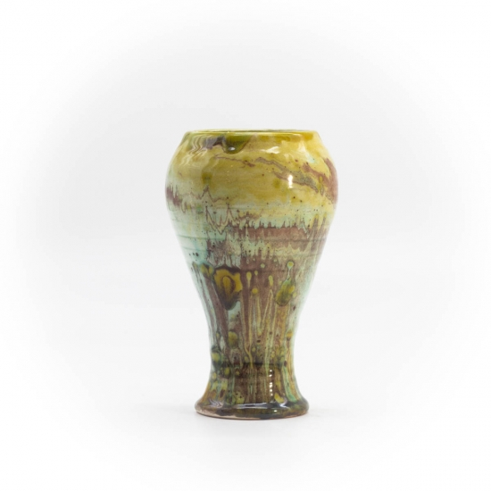 Beer Goblet waiss small marbled