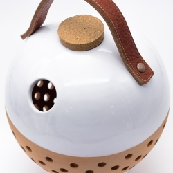 10 Ton Piggy Bank  - leather