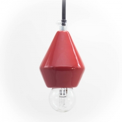 Lamp Limited Edition Diamante small red