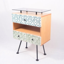 Ceramic cabinet: bedside table